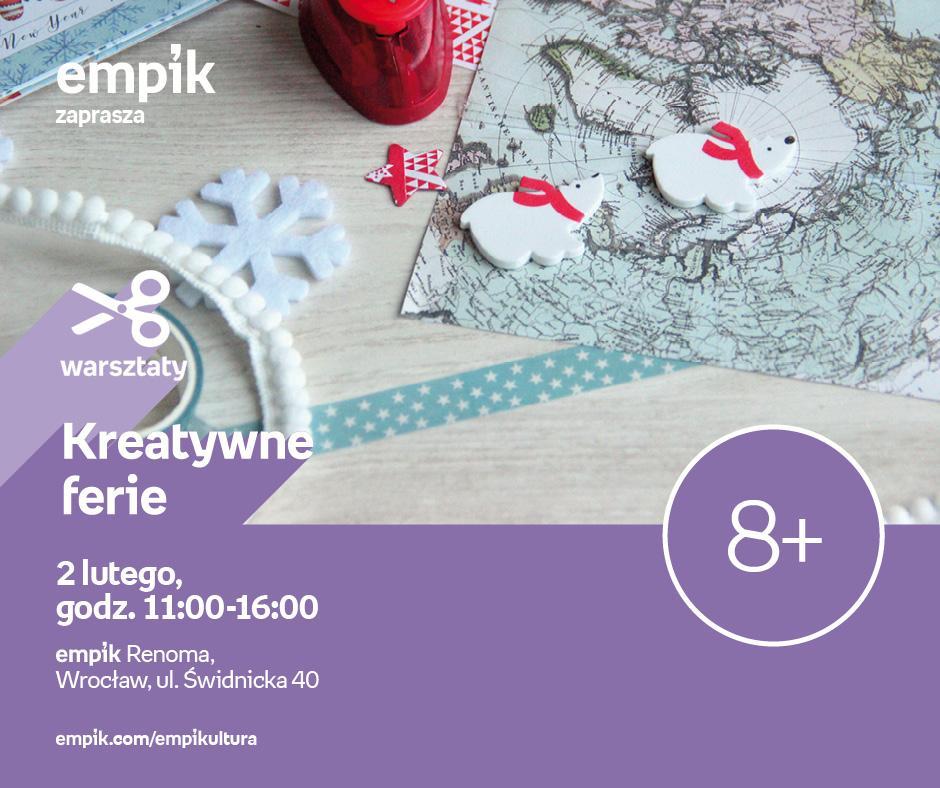 Kreatywne ferie weWrocławiu