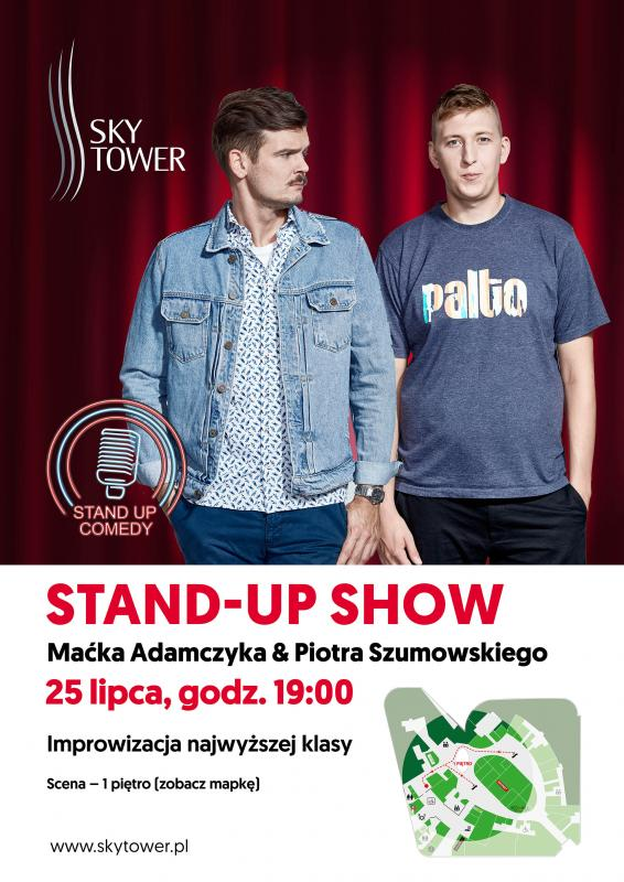 Letnia dawka humoru: Stand-up wSky Tower