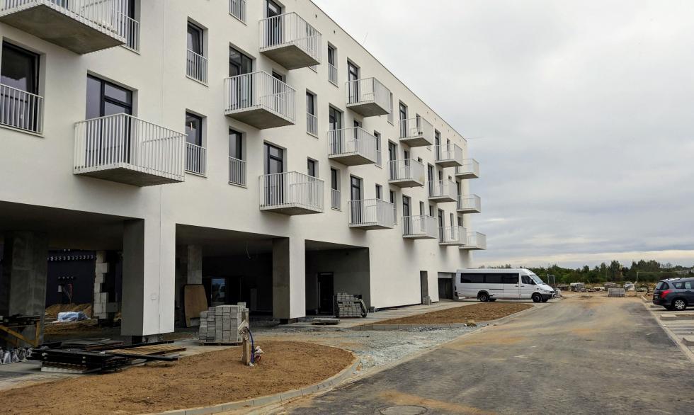 Mieszkania dla seniorów wnowym budynku TBS Wrocław na osiedlu Nowe Żerniki