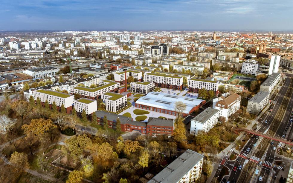 Nowa Kolejowa wyrośnie w26 miesięcy - powstanie pół tysiąca mieszkań