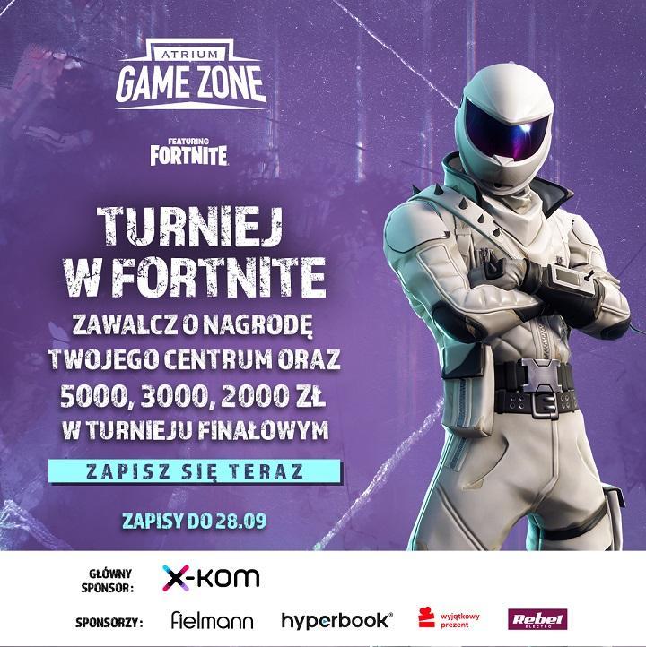 Wejdź dogry Atrium Game Zone!